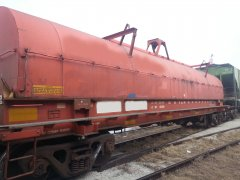 Gondala Railcar with reflectors applied by CRMS